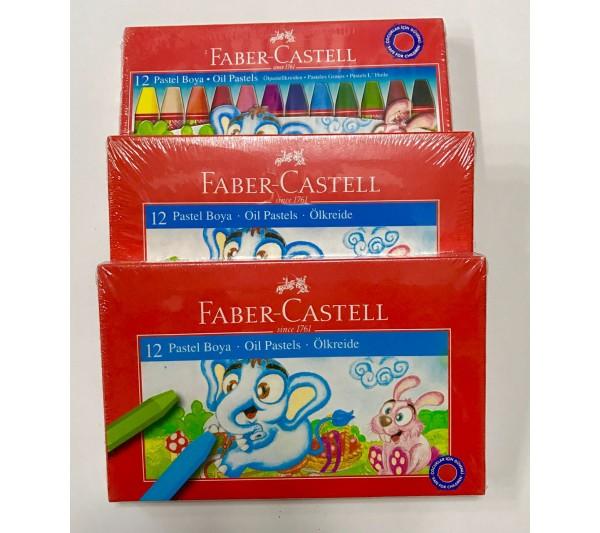 Faber Castell 12'li Pastel Boya Seti