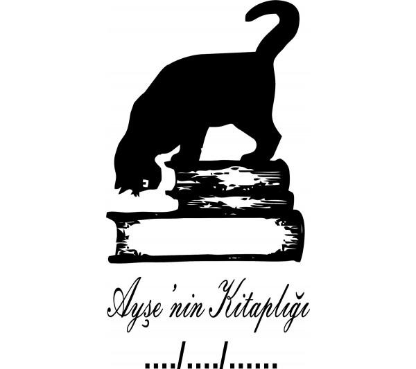 Kitaplar ve Kedi Mühür