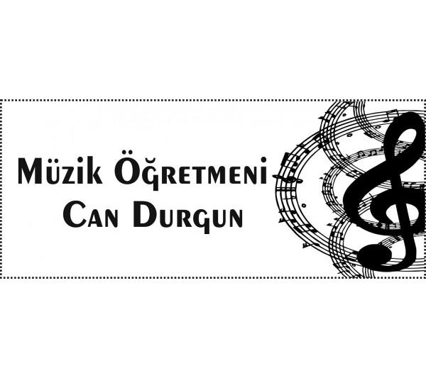 Müzik Öğretmeni Mühür 2