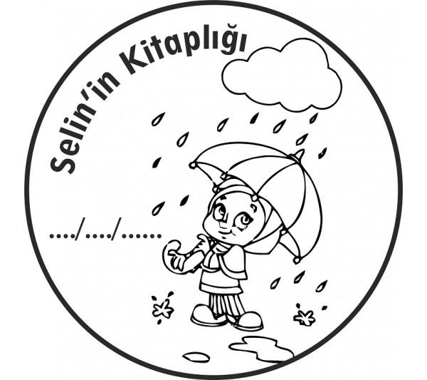 Yağmurlu Bir Gün Mühür